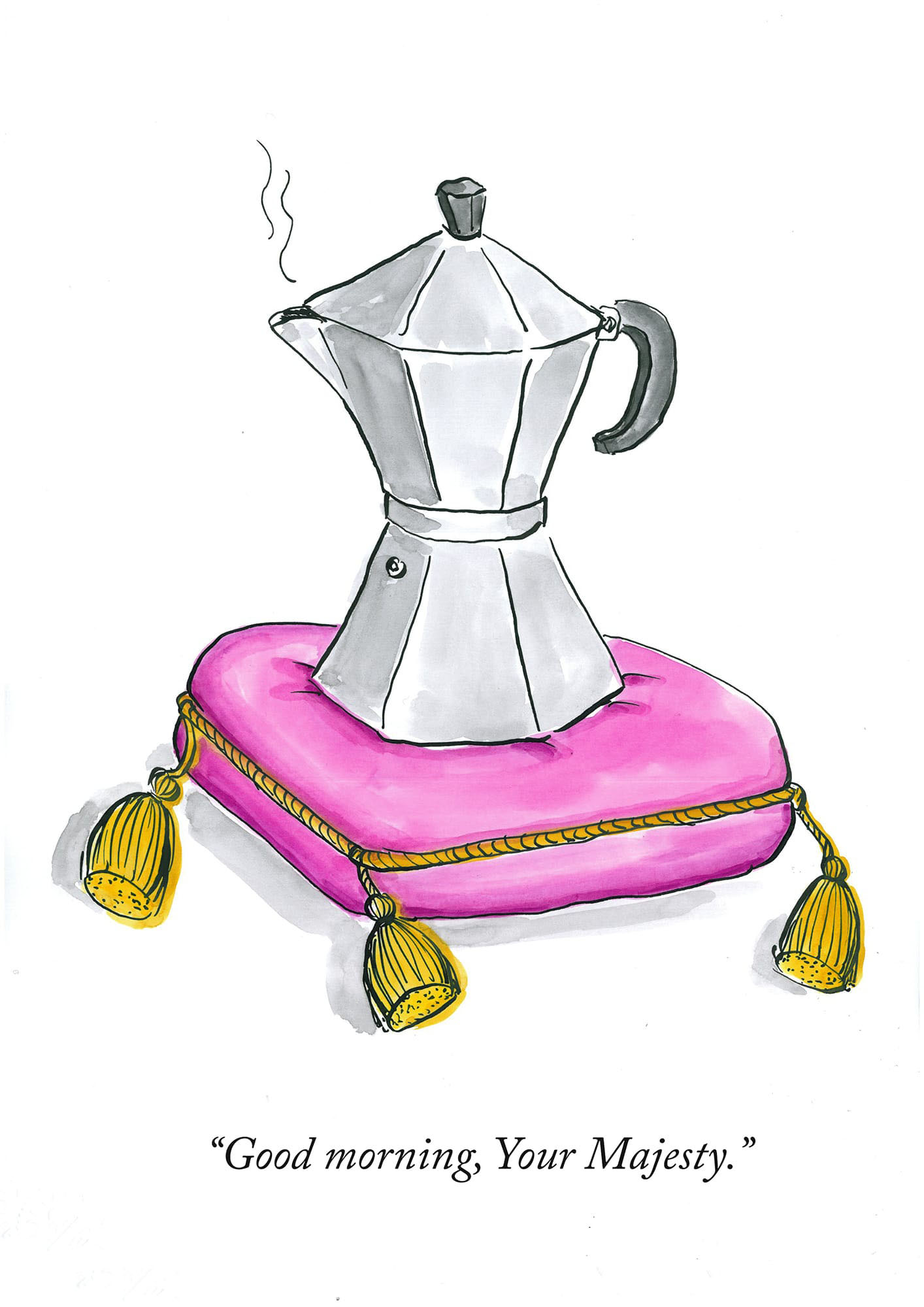 Royal Bialetti coffee maker | © Sarah Morrissette