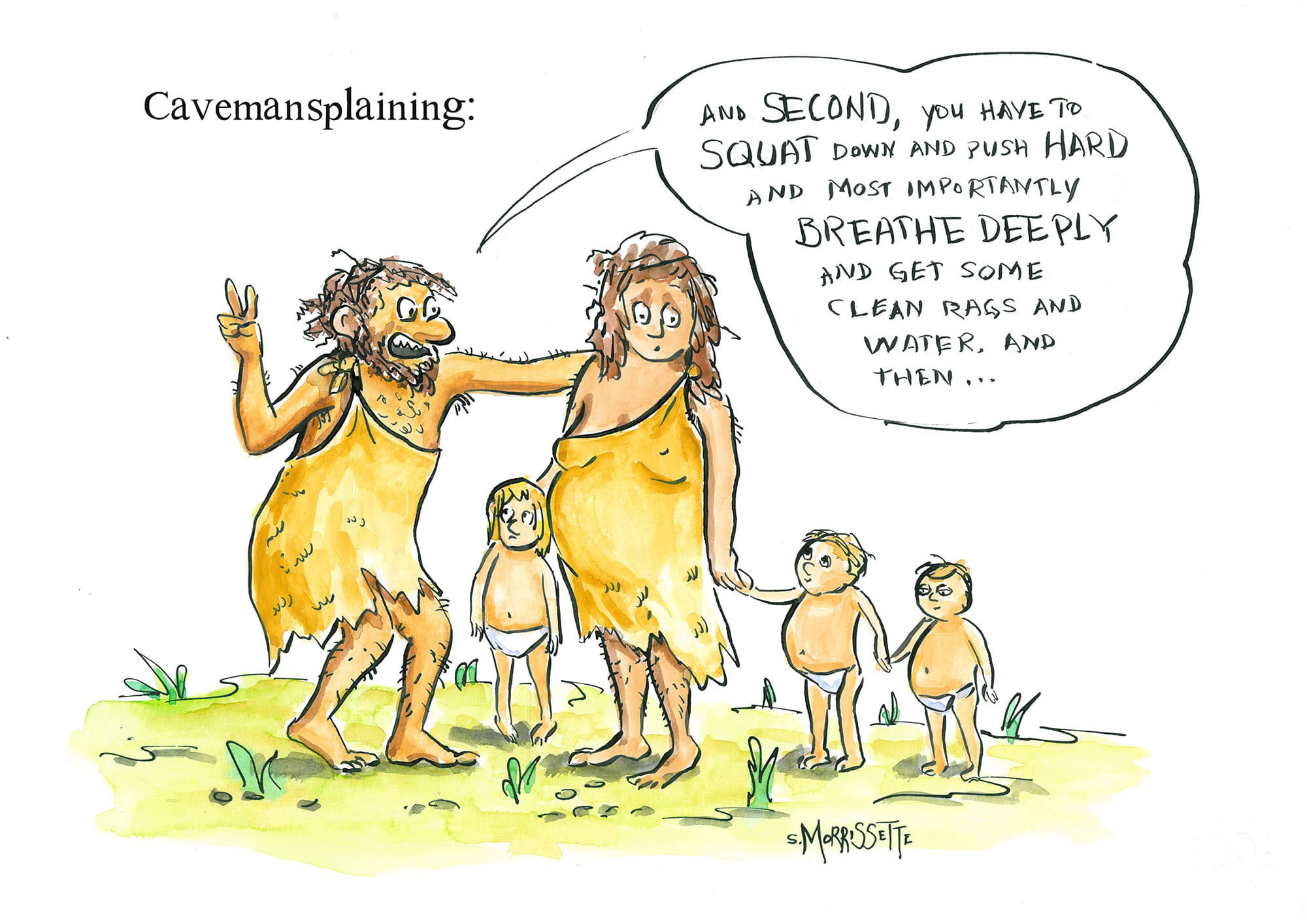 Mansplaining Childbirth | © Sarah Morrissette