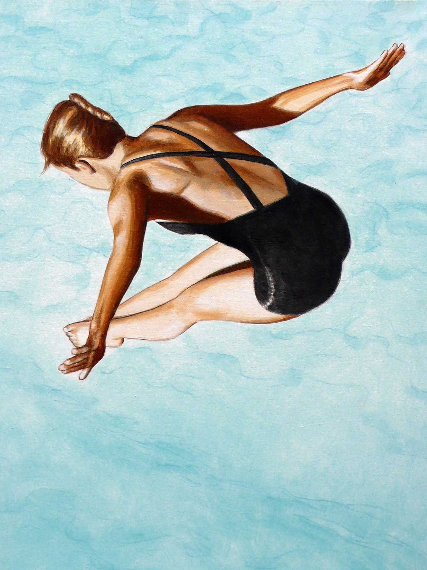 Diver in black swimsuit | © Sarah Morrissette