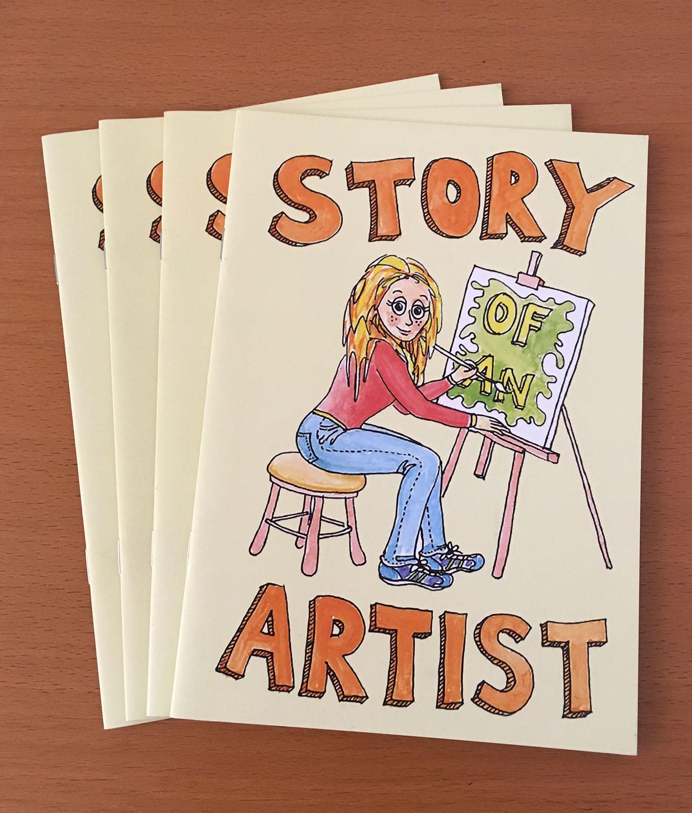 Story of an Artist zine | © Sarah Morrissette